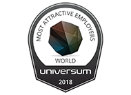 Universum - Among the Top 50 Most Attractive Employers