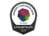 Universum - Among the Top 50 Global Employers for Diversity and Inclusion (D&I)